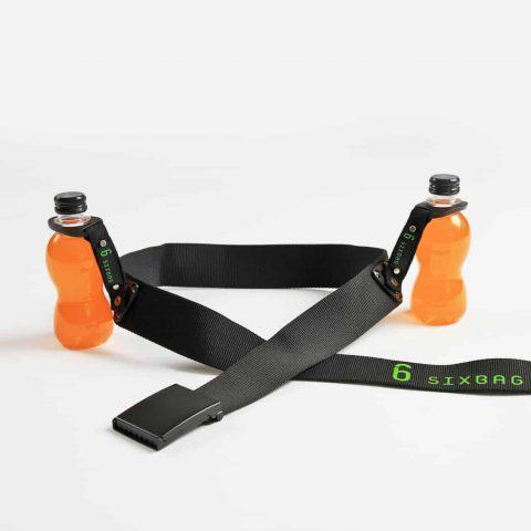 SIXBAG Gürtel-Set mit 2 PET-Flaschenhaltern / Getränkehalter