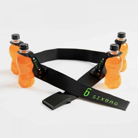 SIXBAG Gürtel-Set mit 4 PET-Flaschenhalter Getränkehalter 3